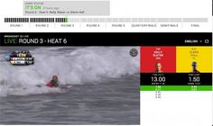 Чемпионат мира по серфингу, трансляции ASP World Tour