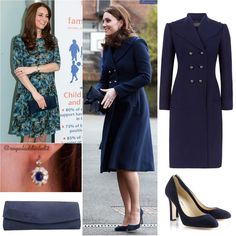 "643 Likes, 8 Comments - Royal Addicted (@royaladdicted2) on Instagram: ""Duchess of Cambridge Style! Coat: Hobbs; Dress: Seraphine (pic from 2015); Shoes: Jimmy Choo;…"""