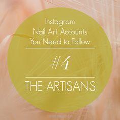 The Nailasaurus | UK Nail Art Blog: Instagram Nail Art Accounts You Need To Follow #4: The Artisans