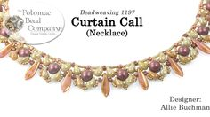 Curtain Call Necklace (Tutorial) - DIY