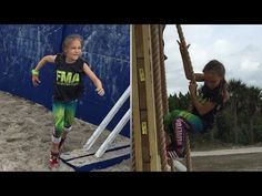 9-Year-Old Runs Supertough Navy Obstacle Course For Bullied Kids Everywhere - YouTube