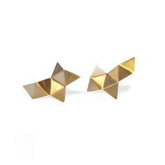 Malene Glintborg Origami / ear / gold