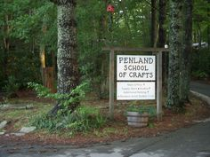 Penland School of Crafts - an amazing place in the North Carolina mountains.