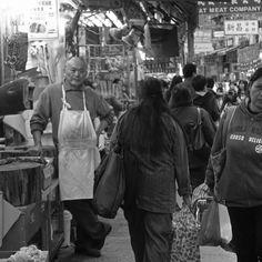 Au marché de Wanchai - Hong Kong