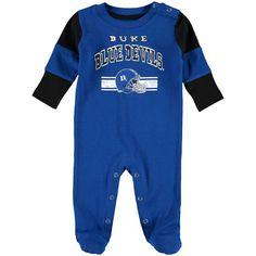 Duke Blue Devils Newborn Team Believer Sleeper - Royal - $19.99