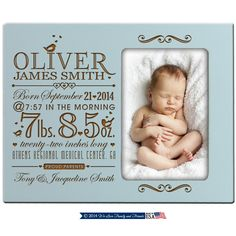 Baby birth announcement with stats on photo frame,Baby birth stats frame,Baby Announcement on photo frame Newborn baby stats photo frame by Welovefamily on Etsy Engraved Photo Frames, Personalized Photo Frames, Personalized Baby, Birth Announcement Template, Birth Announcement Girl, Birth Announcements, Valentine Day Photo Frame, New Grandparent Gifts, Baby Photo Frames