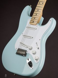 17 best guitars images guitar, bass, blue sapphirefender 1954 stratocaster nos sonic blue (2014) fender stratocaster, music instruments, the