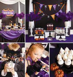 Purple Halloween Diy Halloween Food, Pumpkin Halloween Costume, Purple Halloween, Halloween Party Favors, Halloween Birthday, Halloween Projects, Baby Halloween, Halloween Decorations, Spooky Halloween