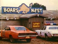The General Lee at the Boars Nest
