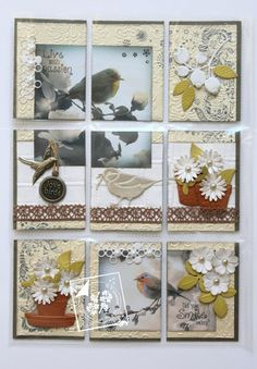 Pocket letter birds... (Joy!crafts)