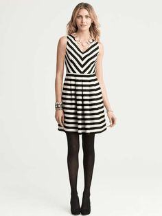 2014 Spring Trends for Womens | Black & White | love this for work | banana republic I love it and bought it!