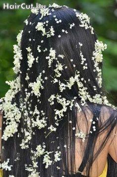 long hair with flowers - haircut.hu, Model 57 (Vetty)