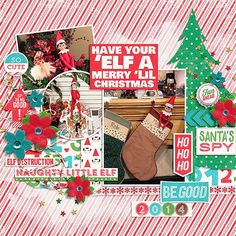 have your elf a merry lil christmas - Scrapbook.com