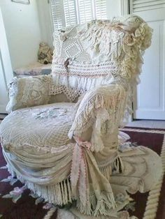 Liking this chair does not mean I'd buy it. A bit too froufrou for me but still beautiful.