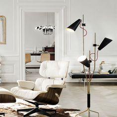 DelightFULL   Unique Lamps #ContemporaryLighting #ModernLighting #InteriorDesignIdeas