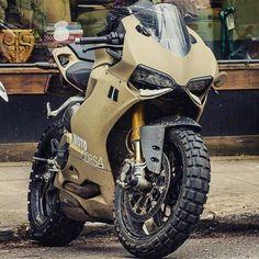 Ready for high speed off roading? Double tap! #ShiftQuick - Tag... #overbold #caferacer #motorcycle #bratstyle #bobber #custom #bcn #bikes #motorbike #bespoke #handmade #caferacer #overboldmotorco #tracker #streettracker #flattracker #honda #yamaha #suzuki #ossa #triumph #bmw #guzzi #motoporn #lifestyle #cafexxx #dirttrack #flattracker