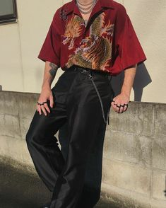 clothes and styles Aesthetic Fashion, Look Fashion, Aesthetic Clothes, Korean Fashion, Fashion Design, 90s Fashion, Retro Fashion Mens, Fall Fashion, Vintage Fashion