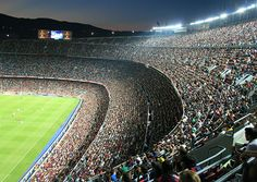 Tribuna lateral - Camp Nou, FC Barcelona