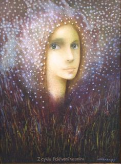 Bent Universe Series  - Vlastimil Zábranský Mona Lisa, Universe, Muse, Artwork, Painting, Inspiration, Gallery, Women, Art Work