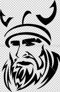 This PNG image was uploaded on January am by user: justart and is about Art, Artwork, Black And White, Facial Hair, Fictional Character. Viking Art, Viking Tattoos, Best Youtubers, Minnesota Vikings, Us Images, Color Trends, Tribal Tattoos, Shirt Designs, Cornhole Boards
