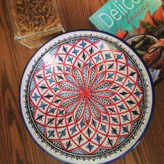 Decorative Plates, Mandala, Creativity, Clay, Colours, Beads, Pretty, Design, Pintura