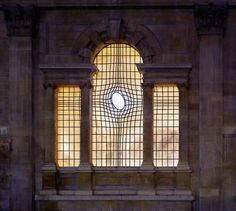 Warped Window. Church of St. Martin in the Fields, from Trafalgar Square, London, Shirazeh Houshiary