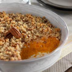 Sweet Potato Casserole. Ready for thanksgiving!!