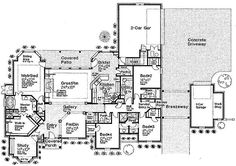 house plan - PERFECT!!! omg maybe a little smaller but the layout is perfect!