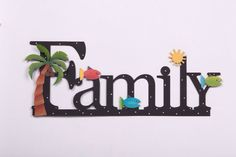 Roeda Family word designed - embellish your story