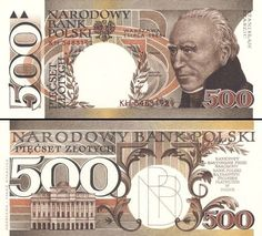 500 złotych polskich - non-released Bank Account Balance, Puerto Rico History, Money Games, Bullion Coins, Dramatic Play, Coin Collecting, Monopoly, World, Disney Princess