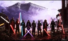 Mandalorians and Sith