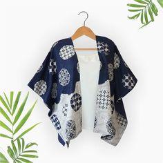 Batik Blazer, Blouse Batik, Batik Dress, Hijab Fashion, Fashion Outfits, Womens Fashion, Outer Batik, Modern Kebaya, Jacket Pattern