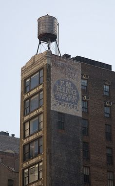 Water Tower - just loved these from first time I saw them. Breathe NYC