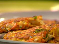Root Vegetable Patties recipe from Rachael Ray via Food Network