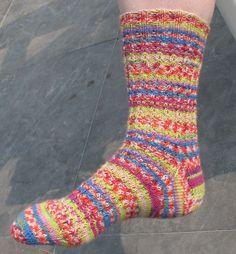 Socks - Koffieboontje pattern