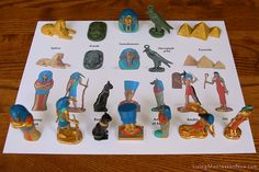 Montessori Monday - Free Safari Ltd. TOOB Keys and Activities Continents Activities, Montessori Activities, Egypt Crafts, Egyptian Party, Boys Easter Basket, World History Classroom, History For Kids, Ancient Egypt, Ancient Aliens