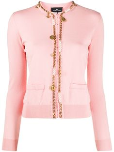 Elisabetta Franchi Celyn B. Tricot Shirt from Elisabetta Franchi Celyn B. Women Wear, Slim, Long Sleeve, Fitness, Fashion Design, Shirts, Outfits, Shopping, Tops