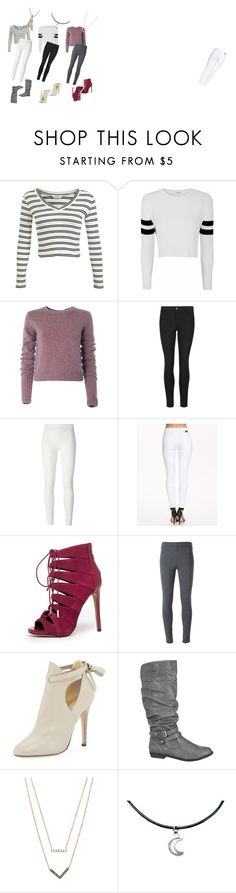"""everyday"" by keelin-hollabaugh on Polyvore featuring Miss Selfridge, Glamorous, Marc by Marc Jacobs, Indigo Collection, Rick Owens Lilies, Dr. Denim, Bebe, Ermanno Scervino, Jimmy Choo and maurices"