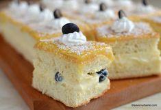 Prăjitura Zaza cu cremă de lămâie, mascarpone și blat pufos | Savori Urbane Muffins, Cupcakes, Limoncello, Lemon Curd, Cornbread, Vanilla Cake, Red Velvet, Cheesecake, Sweets