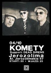 04.10|Komety @ Jerozolima - Warszawa - Informator Kulturalny Gdzieco.pl