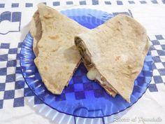 Piadina con farina di riso rosso e canapa