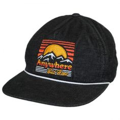 Anywhere but Here Destination Camper by Neff available at  VillageHatShop  Baseball Caps 4f10cf1b974