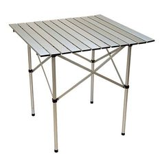 Folding Table Portable Aluminum Camping Evs4005t Tables