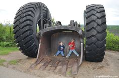 """""""Big Shovel"""" at Mineview in the Sky Virginia MN"""