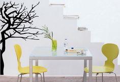 ¿Te gusta la naturaleza dentro de casa pero no tienes mano para las plantas? Mira estas ideas con árboles de vinilo, y ya no sabrás vivir sin uno