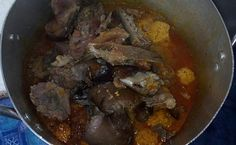 Egusi soup is a Nigerian soup prepared with blended melon seeds; this soup can be prepared with vegetables or without vegetables. It is referred to as Ofe Egusi in Igbo, … Read Egusi Soup Recipes, Goat Meat, Pumpkin Leaves, Types Of Meat, Smoked Fish, Cooking Spoon, Pot Roast, Stuffed Peppers, Vegetables
