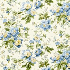 Waverly Forever Yours Bluebell Fabric