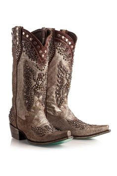 Double D Ranch Women's Brave Eagle Cowgirl Boots