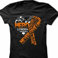 Not Going Down Without a Fight #Leukemia Awareness shirts ...