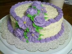 Flowers and Cake Desing